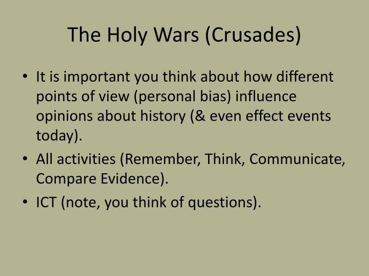 The Holy Wars (Crusades)