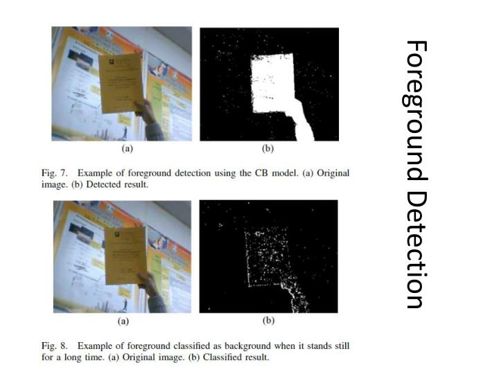 Foreground Detection