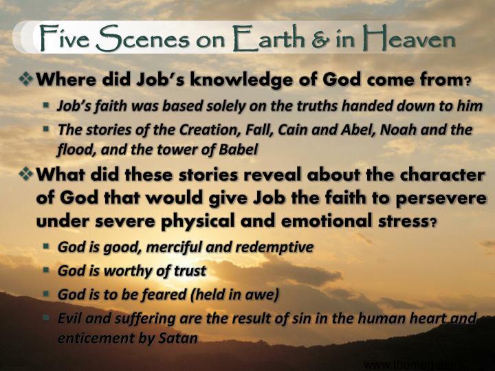 Five Scenes on Earth & in Heaven