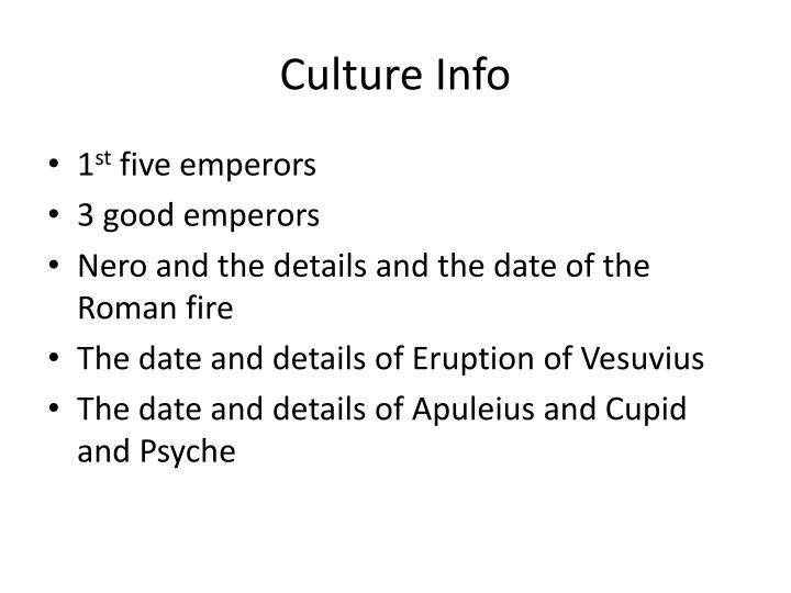 Culture Info