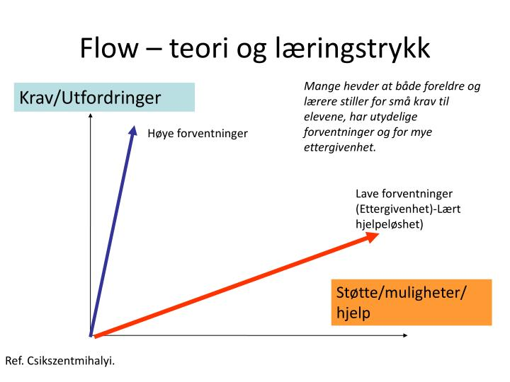Flow – teori og læringstrykk