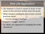 real life application1