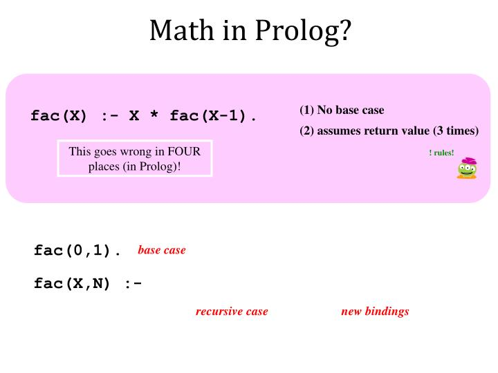 Math in Prolog?