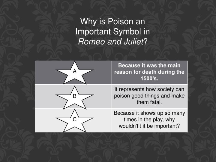 Why is Poison an Important Symbol in