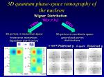 3d q uantum phase space tomography of the nucleon