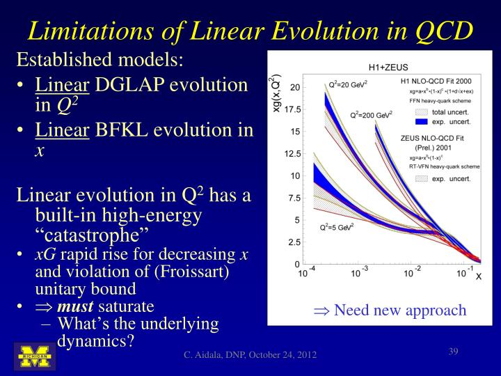 Limitations of Linear Evolution in QCD