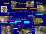 rhic as a polarized p p collider