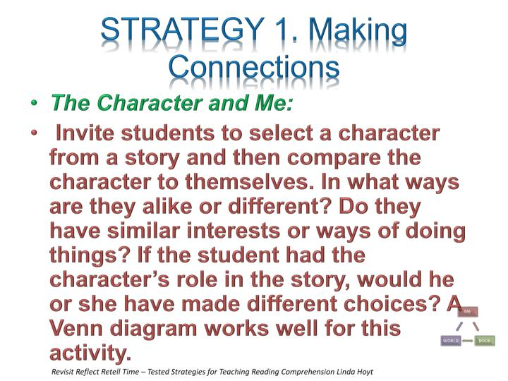 STRATEGY 1. Making Connections