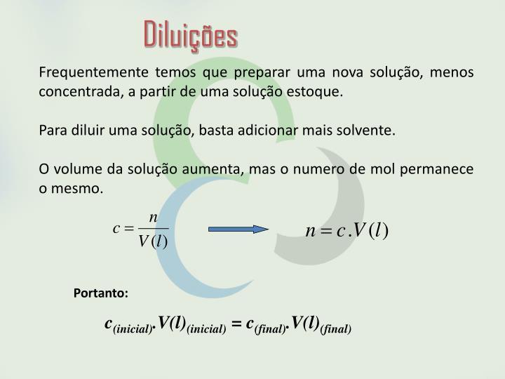 Diluições