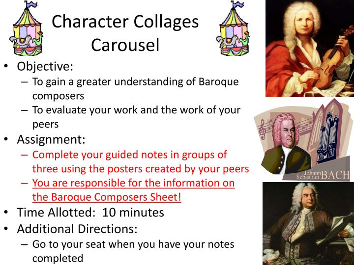 Character Collages Carousel