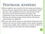 textbook answers1