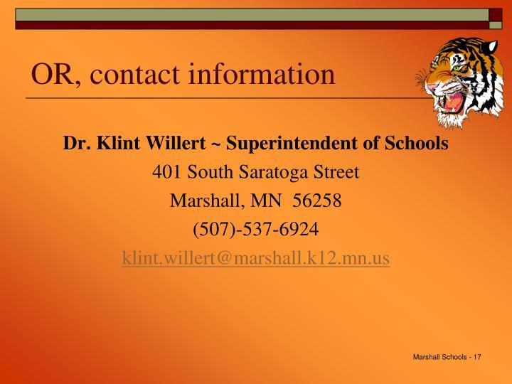 Marshall Schools -