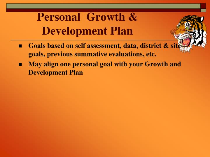 Personal  Growth &