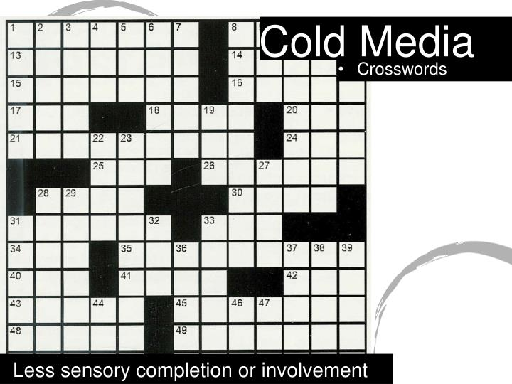 Cold Media