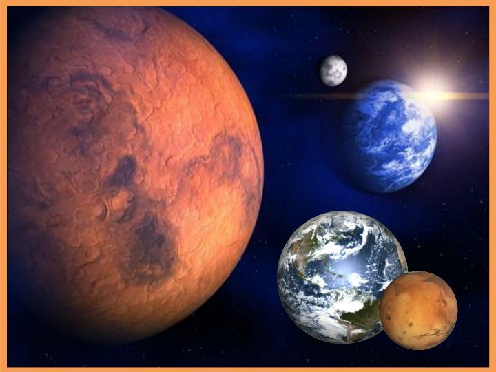Mars je pomenovaný podľa rímskeho boha vojny.