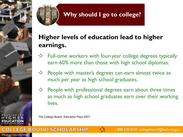 Why should I go to college?