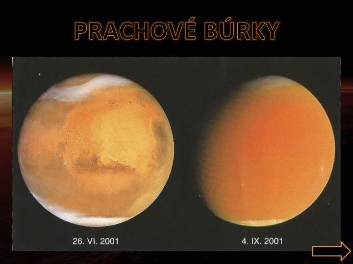 Prachové búrky na Marse