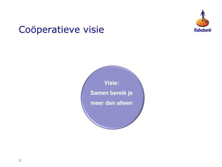 Coöperatieve visie