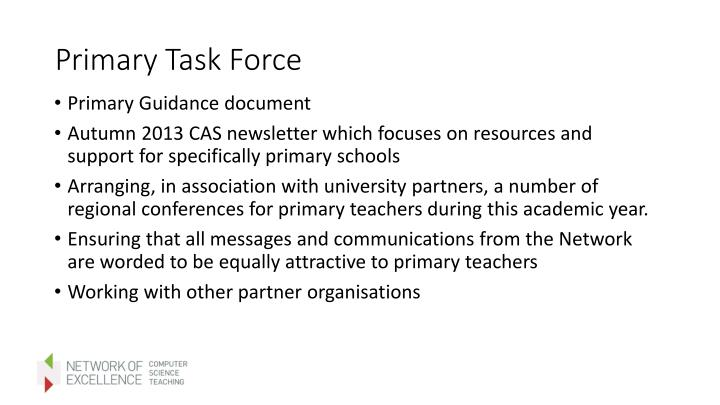 Primary Task Force