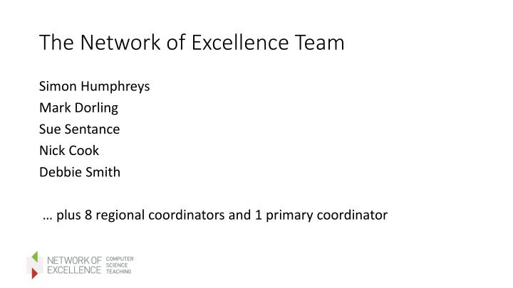 The Network of Excellence Team