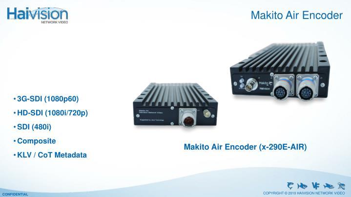 Makito Air Encoder