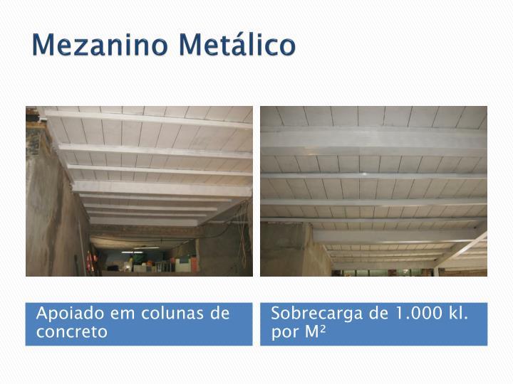 Mezanino Metálico