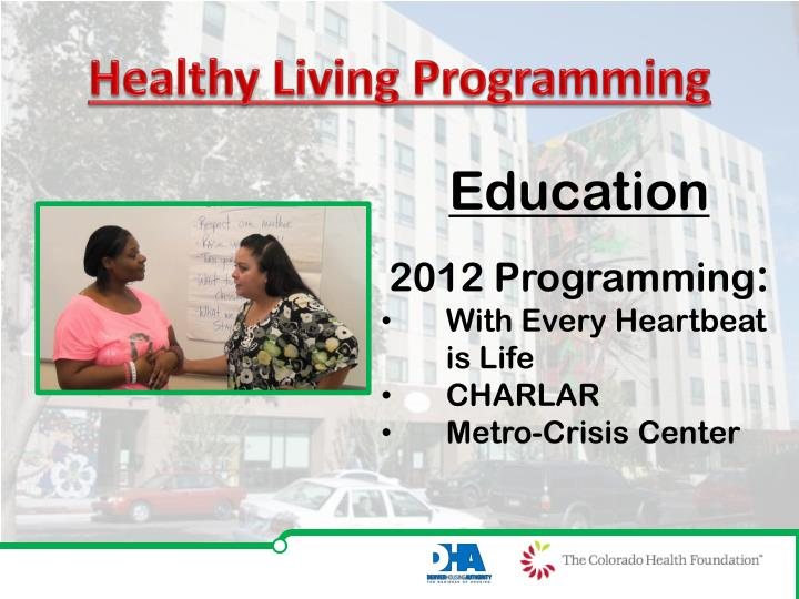 Healthy Living Programming