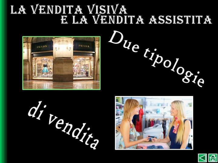 La vendita visiva
