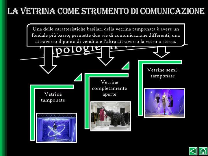 La vetrina come strumento di comunicazione