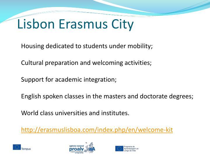 Lisbon Erasmus