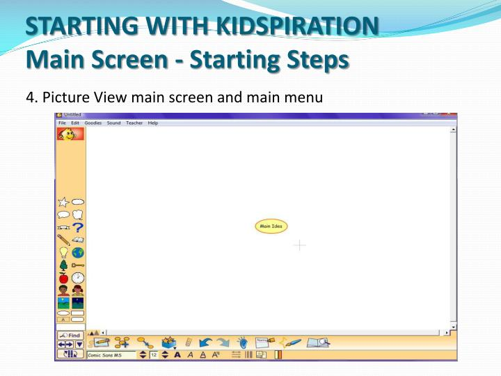 STARTING WITH KIDSPIRATION
