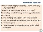 antibodi tb rapid test