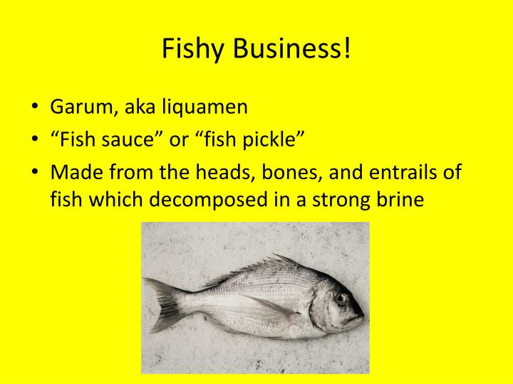 Fishy Business!
