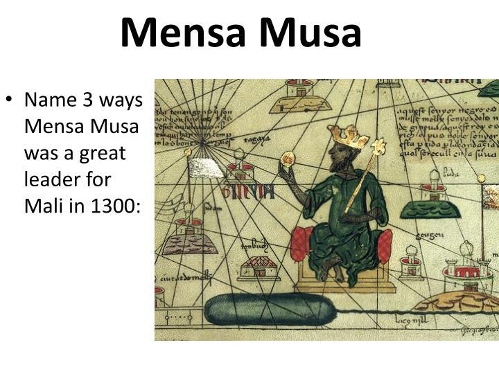 Mensa Musa