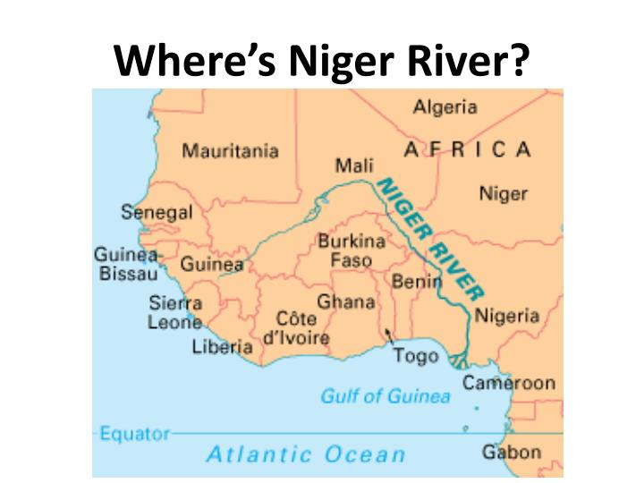Where's Niger River?