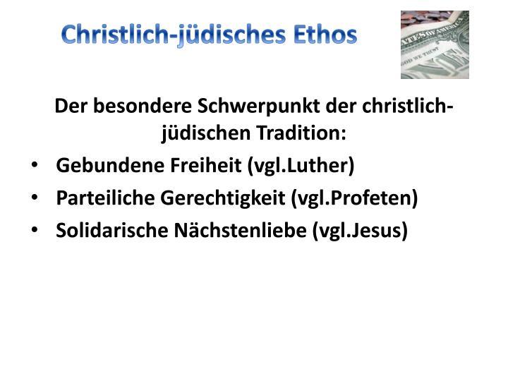 Christlich-jüdisches Ethos
