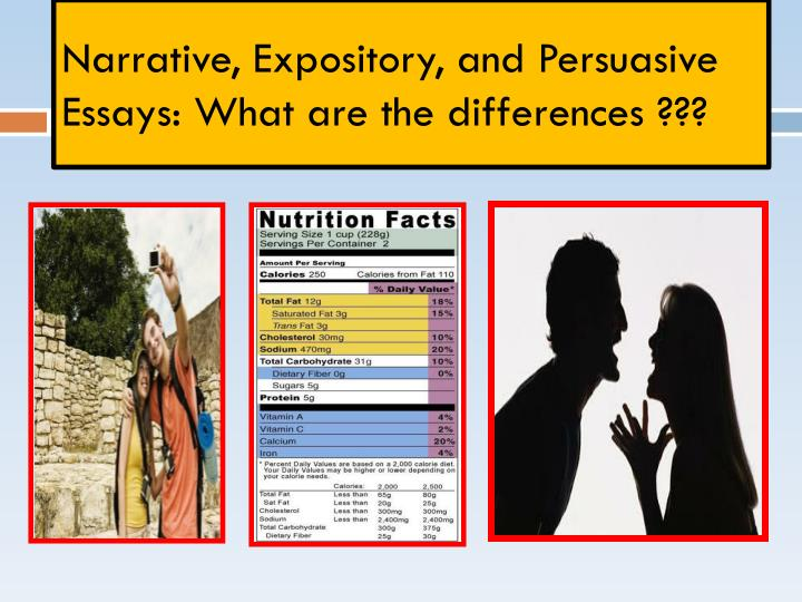 difference between expository essay and descriptive essay