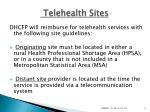 telehealth sites