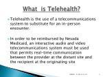 what is telehealth