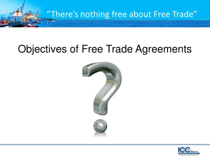 """There's nothing free about Free Trade"""