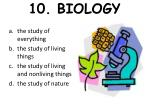 10 biology