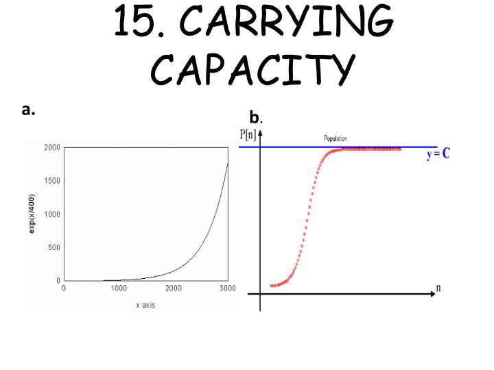 15. CARRYING CAPACITY