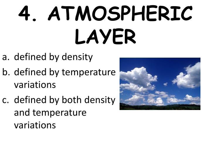4. ATMOSPHERIC LAYER