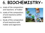 6 biochemistry