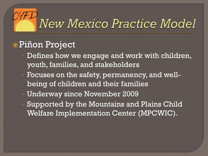 New Mexico Practice Model