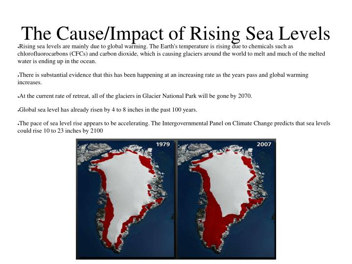 The Cause/Impact of Rising Sea Levels