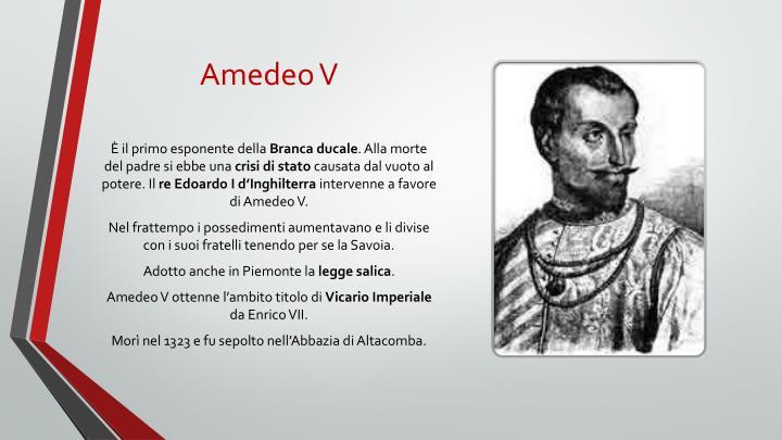 Amedeo V