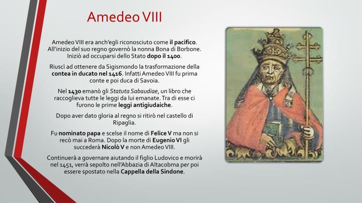 Amedeo VIII