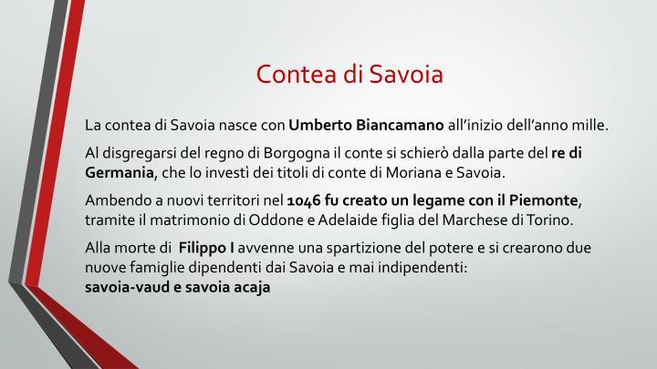 Contea di Savoia