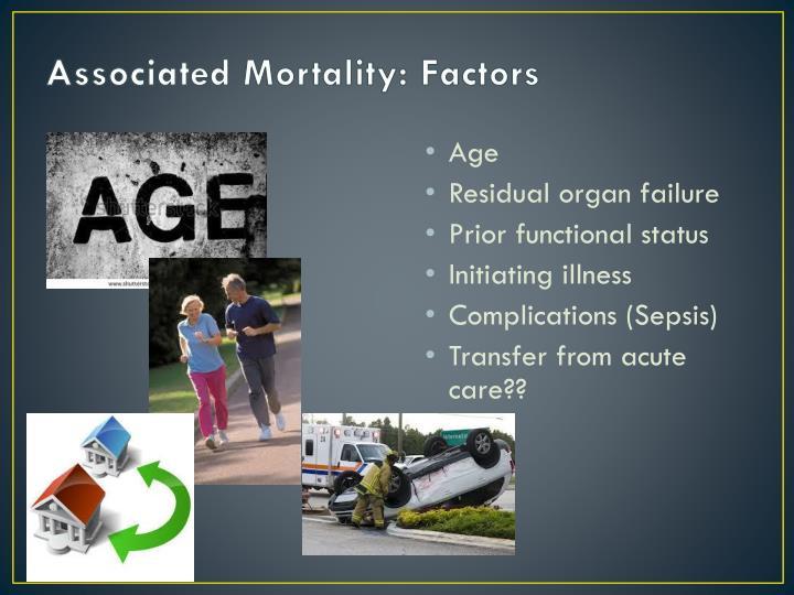 Associated Mortality: Factors